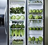 Stock foto grune gemuse in kuhlschrank bld087182 for Gemüse kühlschrank