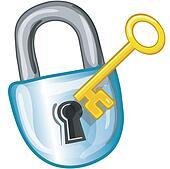padlock and key clipart - photo #8