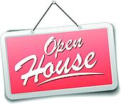 Open house Clipart Illustrations. 2,418 open house clip ...