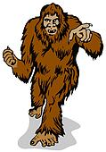 Yeti Clip Art http://www.fotosearch.com/clip-art/bigfoot.html