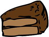 Chocolate Cake Clipart : Chocolate cake Clipart Royalty Free. 6,000 chocolate cake ...
