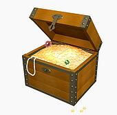wooden box clipart. available as a print wooden box clipart