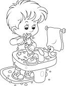 Bubby Coloring Page
