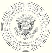 Clipart of President Seal k18736581 - Search Clip Art ...