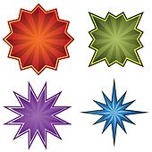 Clipart of Blue Starbursts k7872651 - Search Clip Art, Illustration Murals, Drawings ...