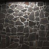 Drawing Of Illuminated Stone Wall K3054873 Search