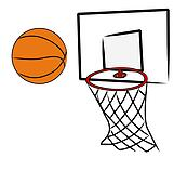 Basketball Net Drawing