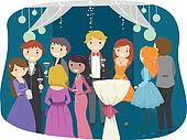 High school prom Clipart and Illustration. 15 high school ...