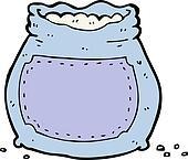Clipart dessin anim sac farine k20036397 recherchez des cliparts des illustrations des - Coloriage farine ...