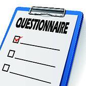 Questionnaire Clip Art Illustrations 1 614 Questionnaire