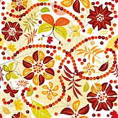Autumn Flowers clipart and illustrations