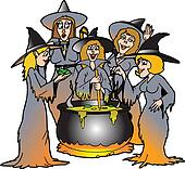 Clipart halloween chaudron k15946120 recherchez des for Art et cuisine chaudron line