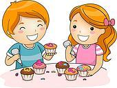 Cake Decor Clipart : Cake decorating Stock Illustration Images. 2,670 cake ...