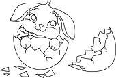 Jack rabbit clip art and illustration 23 jack rabbit for Jack rabbit coloring page