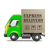 Delivery truck Stock Illustration Images. 2,941 delivery ...