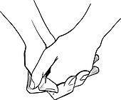 Clasp hands Clip Art Illustrations. 128 clasp hands ...