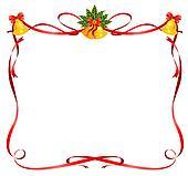 clipart weihnachten rahmen mit zuckerstange k6183820. Black Bedroom Furniture Sets. Home Design Ideas