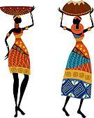 Résultat d'images pour costume africain clipart