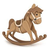 Drawing of Baby on Rocking Horse k3668673 - Search Clipart ...