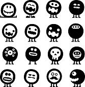 Clipart of Different pencil moods k16478314 - Search Clip Art ...