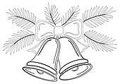 clipart weihnachten tanne konturen k17328451 suche. Black Bedroom Furniture Sets. Home Design Ideas