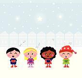 Children choir Illustrations and Clipart. 44 children ...