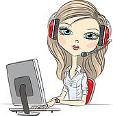 Telephone Operator Clipart - Clipart Suggest