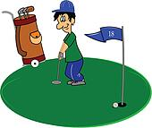 Putting green Illustrations and Stock Art. 302 putting ...
