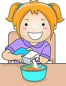 Bowl cereal Clipart EPS Images. 97 bowl cereal clip art ...
