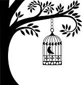 Bird Cage Clipart