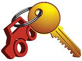 Car Keys Clip Art car and key