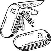 Pocket Knife Illustrations And Clipart 57 Pocket Knife