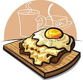 French toast Illustrations and Clipart. 58 french toast ...