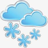clipart of vector icon of rainy weather k11381633 search