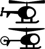 clip art vektor hei luft ballon schwarz silhouette k12600547 suche clipart poster. Black Bedroom Furniture Sets. Home Design Ideas