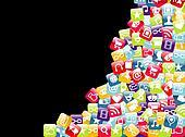 Logo for Mobile Applications Development