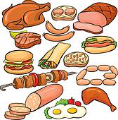 Meat Illustrations and Clipart. 3,092 meat royalty free illustrations ...: www.fotosearch.com/illustration/meat.html
