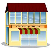 Grocery Store illustrations and clipart