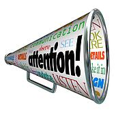 Image result for attention clipart