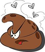 Clipart of Turd Poop Vector Illustration k8462561 - Search Clip ...