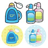 Stock Illustration of Various toiletries u17664308 - Search EPS Clip Art, Drawings ...