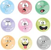 Clipart of Emotion yellow balloon set 002 k13789234 - Search Clip ...