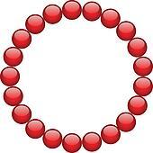 Armband clipart  Clip Art - karikatur, perlen, armband k22250527 - Suche Clipart ...