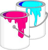Paint can Clip Art and Illustration. 2,939 paint can clipart vector ...