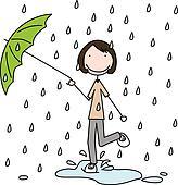Rain dance Stock Illustration Images. 96 rain dance ...