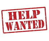 help wanted clipart and stock illustrations 399 help help wanted clip art small free Clip Art Volunteers Wanted