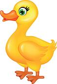 Clip Art Of Funny Duck Cartoon K11478867 Search Clipart