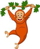 Orangutan Clip Art and Stock Illustrations. 47 orangutan EPS ...