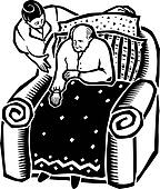 no search tub hjelp gammel mann popular