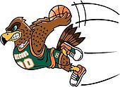 Hawk Basketball Clip Art And Stock Illustrations 2 Hawk